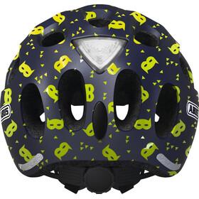 ABUS Youn-I Helmet Kinder blue mask